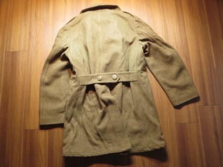 U.S.ARMY Overcoat Wool Melton 1945年 size36L used