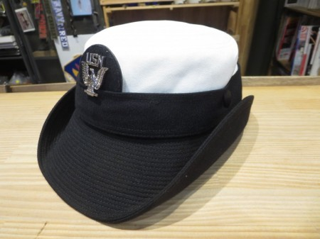 U.S.NAVY Hat Service Woman's size21(M?)used
