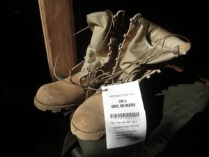 U.S.ARMY Boots Hot Weather Tan 1997年 size6.5R new