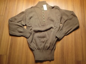 U.S.ARMY Sweater 100%Acrylic sizeM new