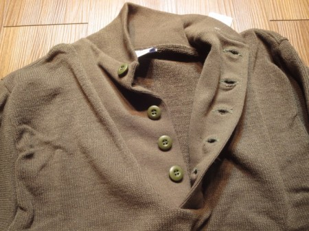 U.S.ARMY Sweater 100%Acrylic sizeM new