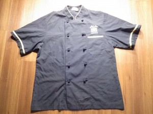 "U.S.NAVY Umiform CookShirt? ""WORDROOM MESS"" sizeM"