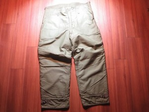 U.S.NAVY Trousers Cold Weather 1978年 sizeXL used
