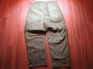 U.S.NAVY Trousers Cold Weather 1979年 sizeL used