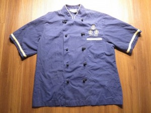 "U.S.NAVY Umiform CookShirt? ""CPO MESS"" size used"
