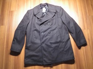 U.S.NAVY Pea Coat 100%Wool 1998年 size52L(XXL) used