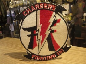 """U.S.NAVY Patch """"VF-161 CHARGERS"""""""