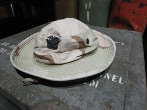 U.S.NAVY Hat 3color Desert 1991年 size7 1/4 used