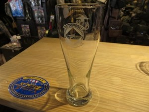 "U.S.MARINE CORPS Glass ""VMFAT-101"" 2009年 used"