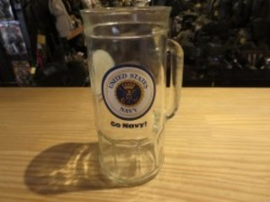 U.S.NAVY Large Mug (Beer?)used