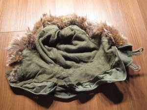 U.S.Hood M-51 with Real Fur 1950年代? used