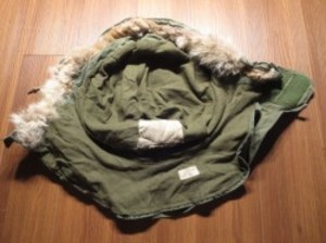 U.S.Hood M-65 with Real Fur 1972年 used