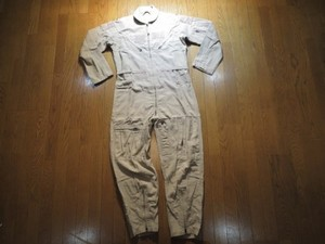 U.S.NAVY Coveralls CWU-27/P TAN/KAHKI  size42 used