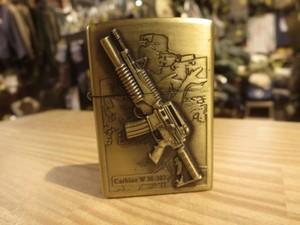 """U.S.Lighter """"KANTAI CARBINE w M-203"""" used"""