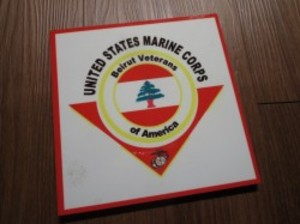 U.S.MARINE CORPS Plate used?