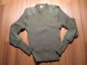 U.S.Sweater 100%Wool 1997年 size40 used