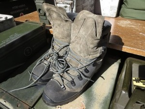 U.S.AIR FORCE? Boots EXColdWeather?size10.5W used