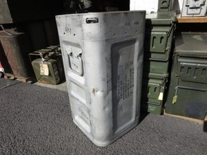U.S.Ammunition Box 40mm AA GUNS used