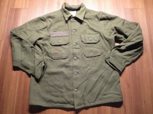 U.S.ARMY Field Shirt Wool/Nylon 1981年 sizeL used