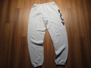 U.S.NAVY Sweat Trousers sizeL used