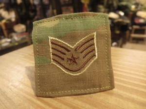 "U.S.AIR FORCE Insignia ""Staff Sergeant"" used"