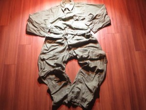 U.S.NAVY Coveralls Utility Cotton 1961年 sizeL used