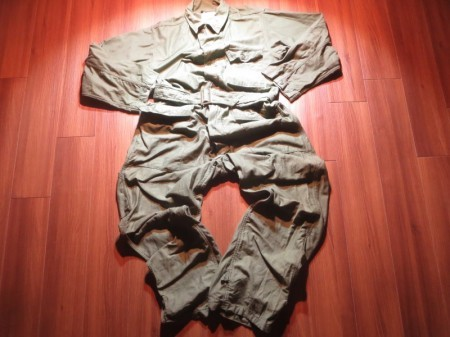 U.S.NAVY Coveralls Utility Cotton 1961年 sizeL used
