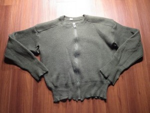 Sweden Sweater Full Zip Wool? size4? used