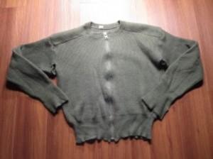 Sweden Sweater Full Zip Wool? size4? used