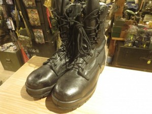 U.S.NAVY Working Safety Boots size6.5 used