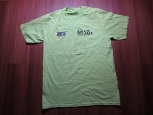 """U.S.NAVY T-Shirt """"NEX JAPAN"""" sizeM used"""