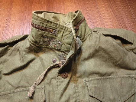 U.S. M-65 Field Jacket 1970年代? sizeS-Regular used