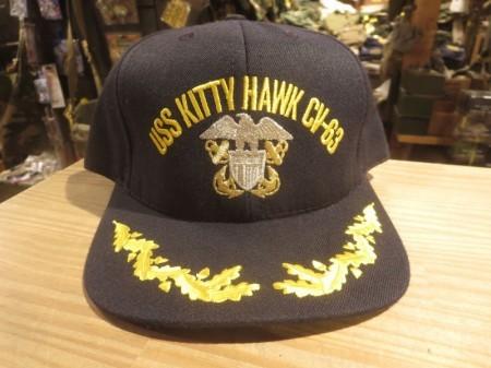 "U.S.NAVY Utility Cap ""USS KITTY HAWK CV-63"" new?"