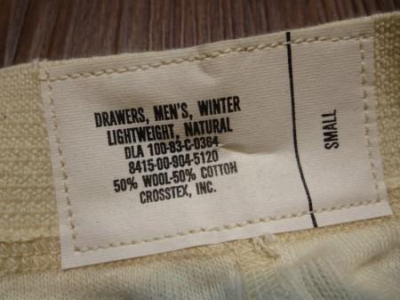 U.S.Drawers Winter LightWeight 1983年 sizeS new?