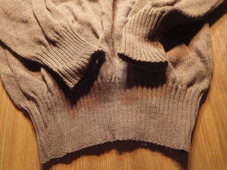 U.S.ARMY Sweater 100%Wool OD 1986年 sizeXL used