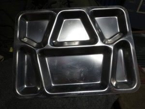 U.S. Stainless Mess Tray 1951年 used