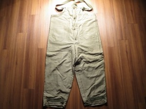 U.S.NAVY Trousers ColdWeather 1940年代頃 sizeXL used
