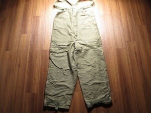 U.S.NAVY Trousers ColdWeather 1940年代頃 sizeM used