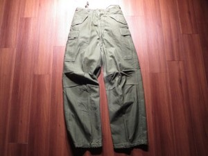 U.S.ARMY M-51 Field Trousers 1952年 sizeS used