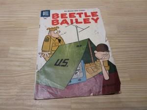 "U.S.Comic ""BEETLE BAILEY"" 1957年 used"