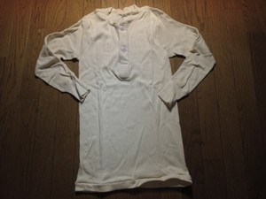 U.S.Undershirt Winter Wool/Cotton sizeS new