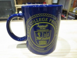 "U.S.NAVY ""COLLEGE PROGRAM"" Mug used"