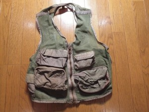 U.S.AIR FORCE SurvivalVest SUR-21/P1974年sizeM used