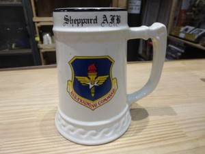 "U.S.AIR FORCE Mug ""Sheppard AFB"" used"
