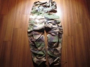 FRANCE Combat Over Trousers Camoulage sizeM~L?