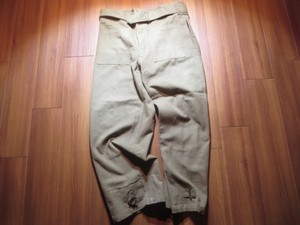 FRANCE Motorcycle Over Trousers 1940年代? sizeL?