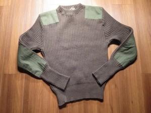 U.S.NAVY Sweater 100%Wool 1997年 size40 used