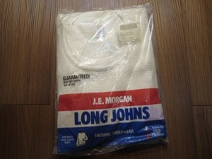 U.S. J.E.MORGAN LONG JOHNS 1991年 sizeS new