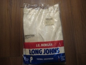 U.S. J.E.MORGAN LONG JOHNS 1991年 sizeS
