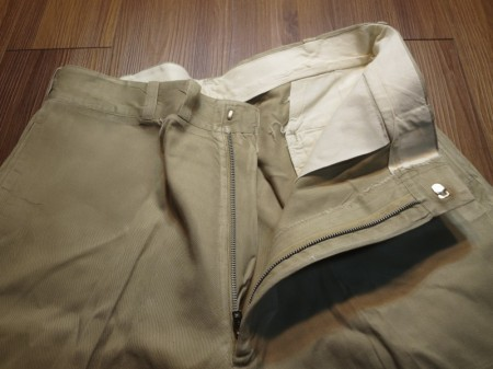 U.S.Trousers Cotton 1967年 size38?(waist90cm) used